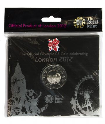 2012 £5 London 2012 Large Pack Royal Mint Brilliant Uncirculated pack